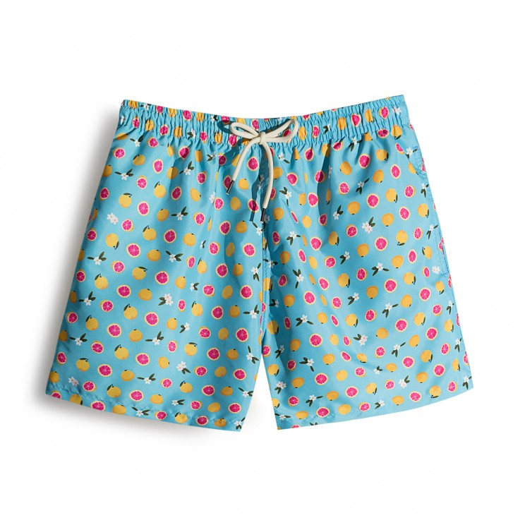 Swim short Blue Grapefruit