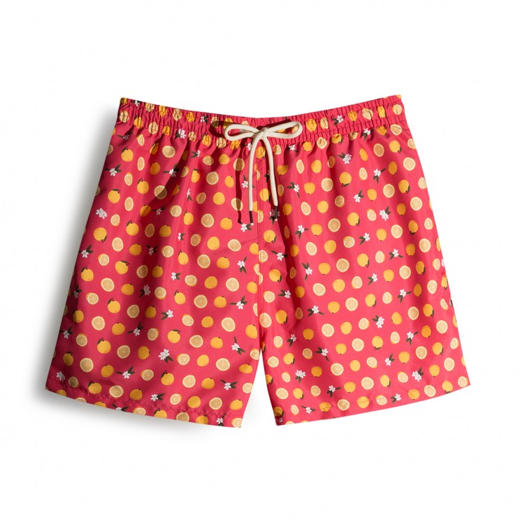 Swim short Pink Grapefruit