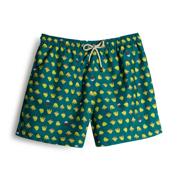 Chicks Green Swim short