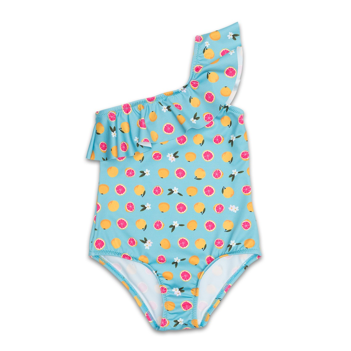 Girl Swimsuit light blue Grapefruit 2 to 6 years