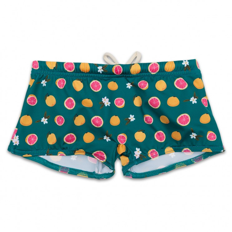 Boy Swimsuit Green Grapefruit 1 year