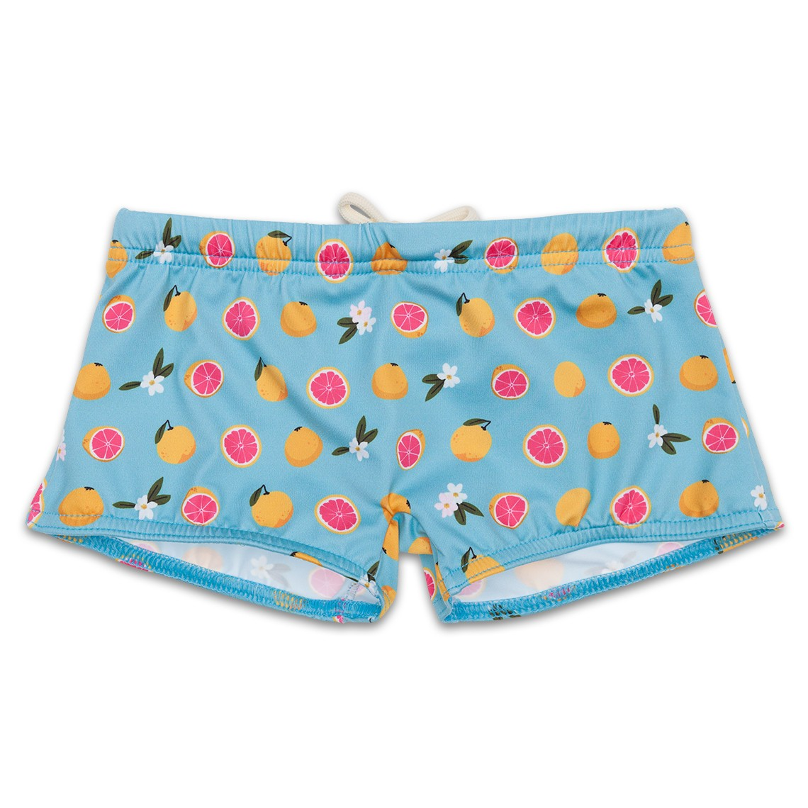 Boy Swimsuit Light Blue Grapefruit 1 year