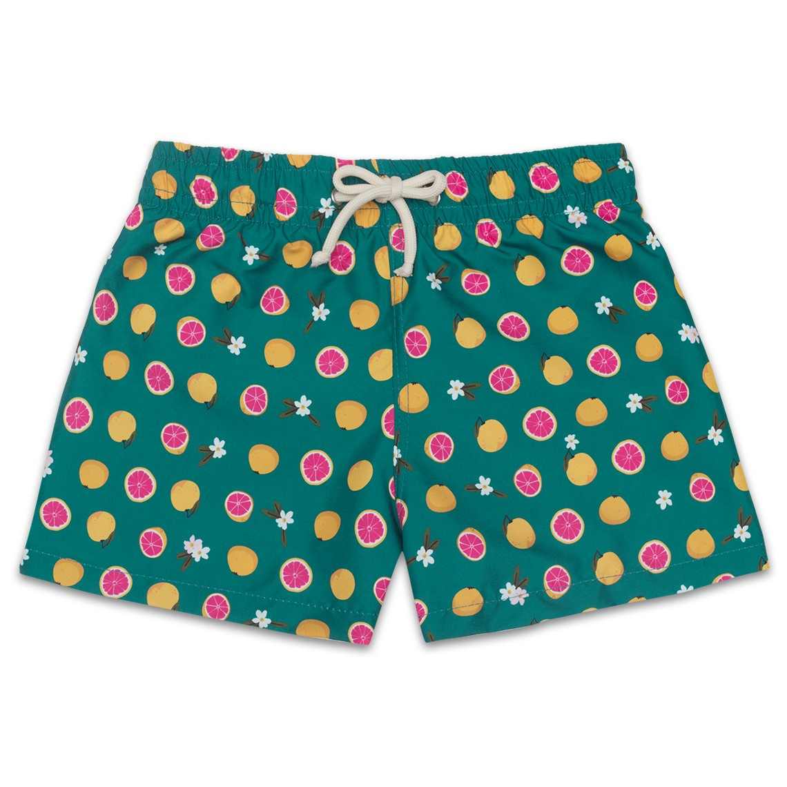 9ef26a1fab Boy Swim short Green Grapefruit 2 to 8 years - Ocoly