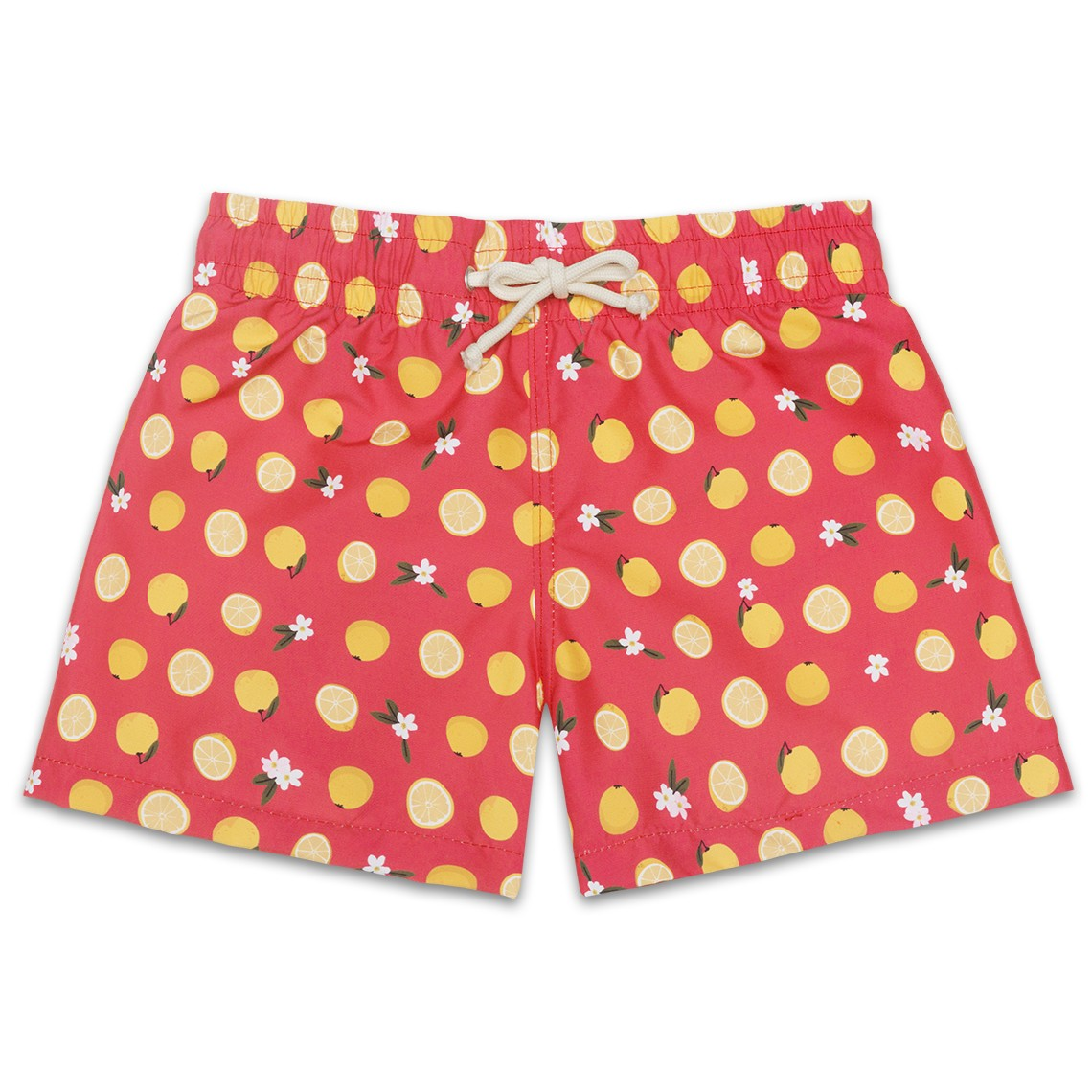 Boy Swim short Pink Grapefruit 2 to 6 years