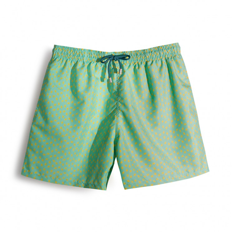 Soft Butt Limited Edition Green Thunder Swim Short