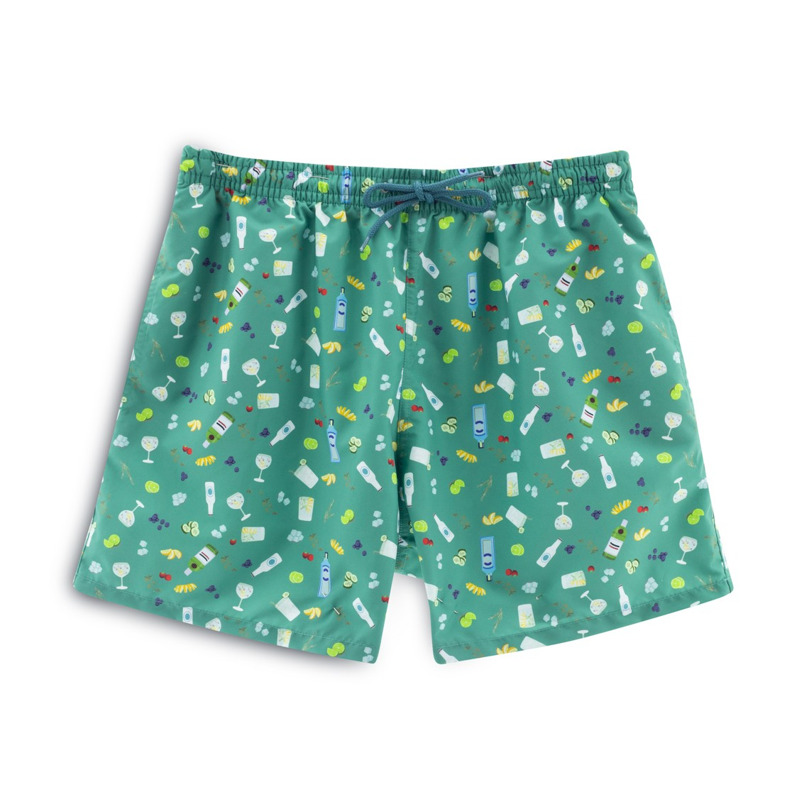 8de7981412 Soft Butt Limited Edition Green Gin and Tonic Swim Short zoom
