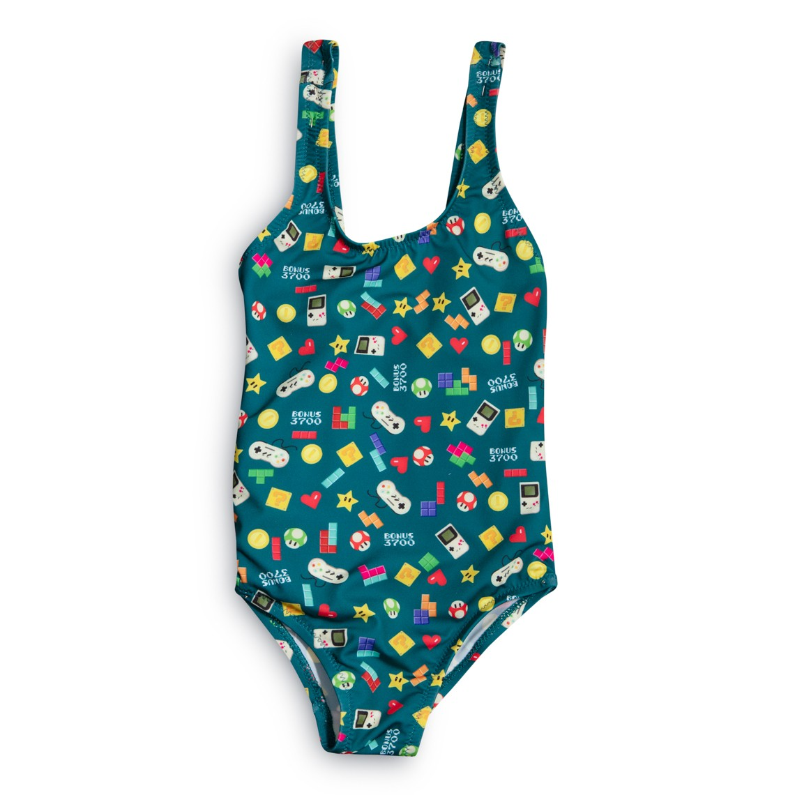 Girl Swimsuit Green video games 2 to 6 years