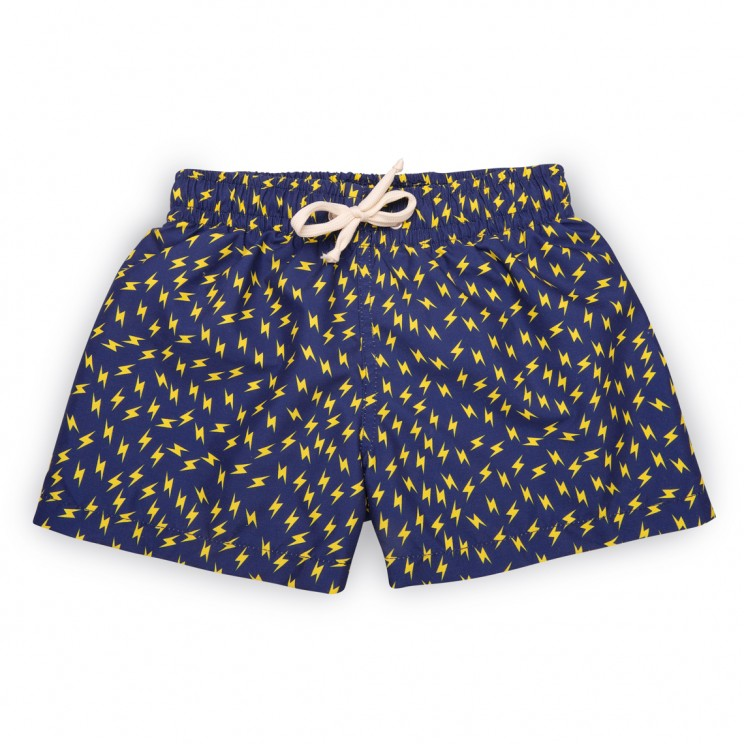 Boy Swim short Dark Blue Thunder