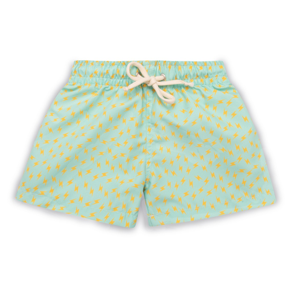 Boy Swim short Bright Green Thunder