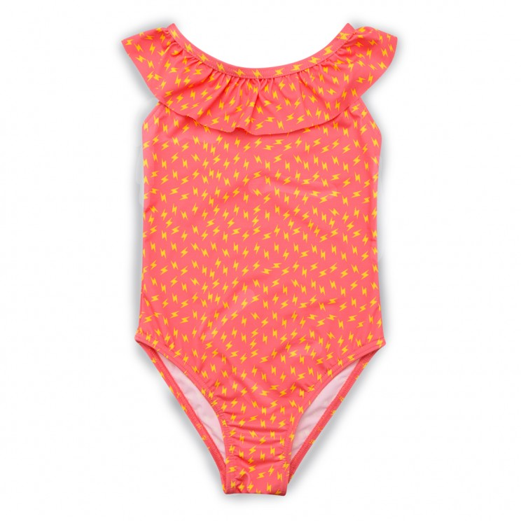 Girl Swimsuit Pink Thunder 1 to 12 years