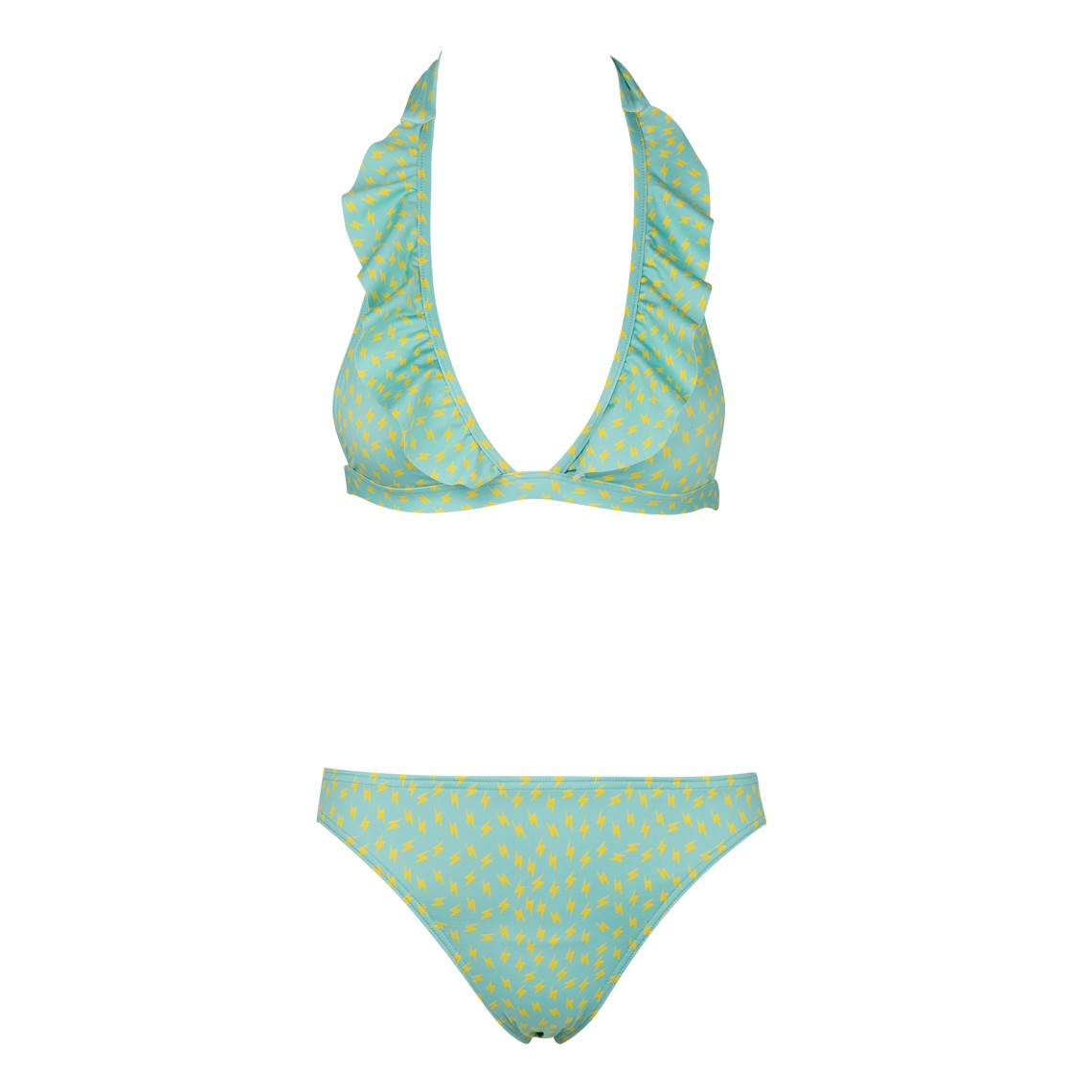Ltd Ed Woman BIkini green Thunder Swimsuit