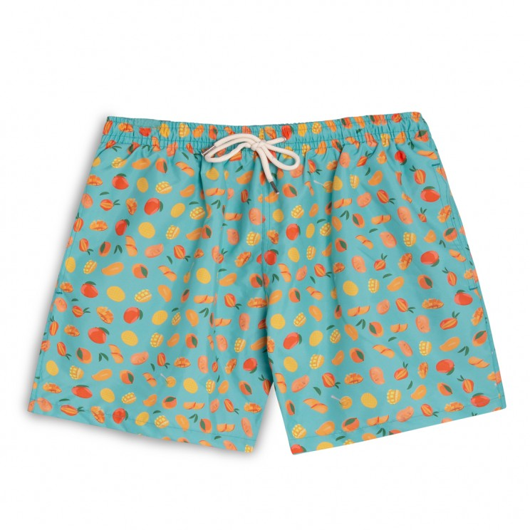 Swim short Blue mangos