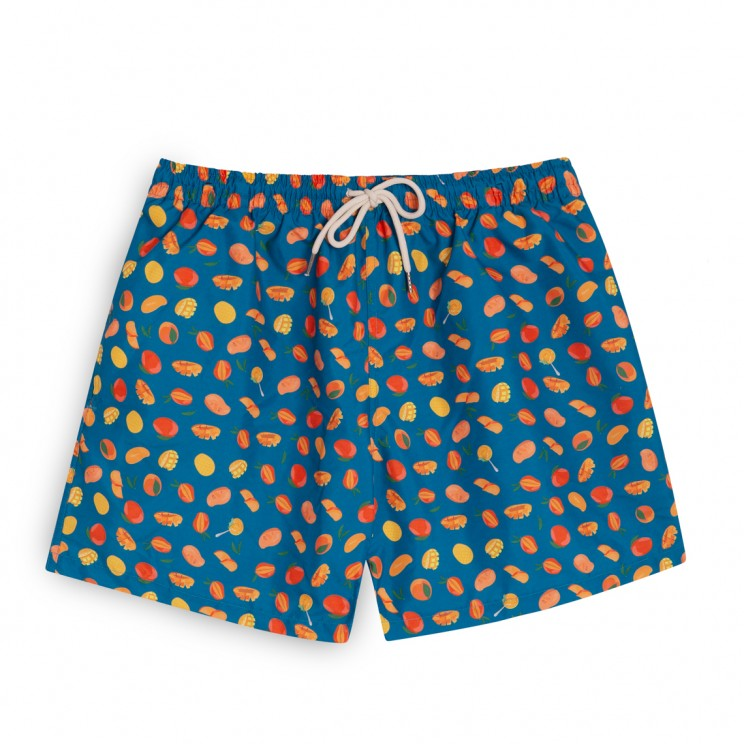 Swim short petrol blue mangos