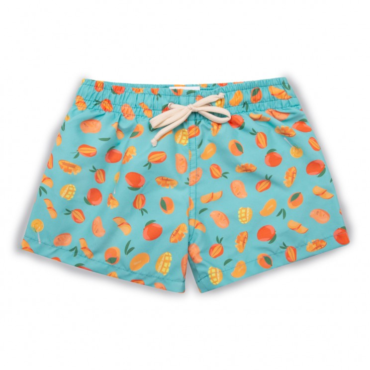 Boy Swim short light blue mangos