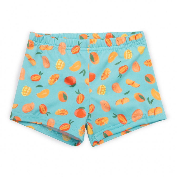 Boy Swim short lycra light blue mangos