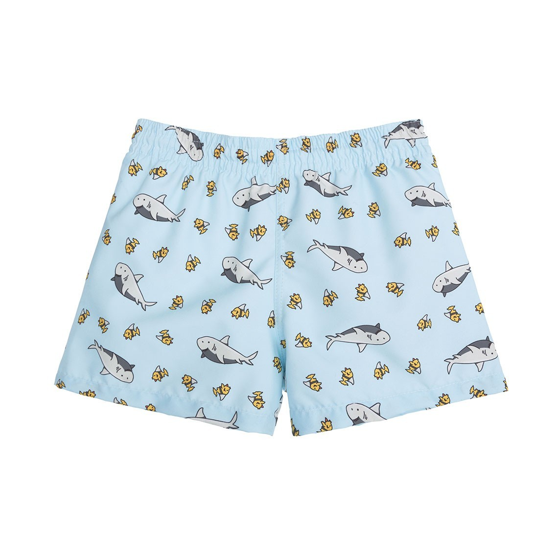 9a8f59ad2e Boy Swim short Light Blue Sharks 2 to 4 years - Ocoly