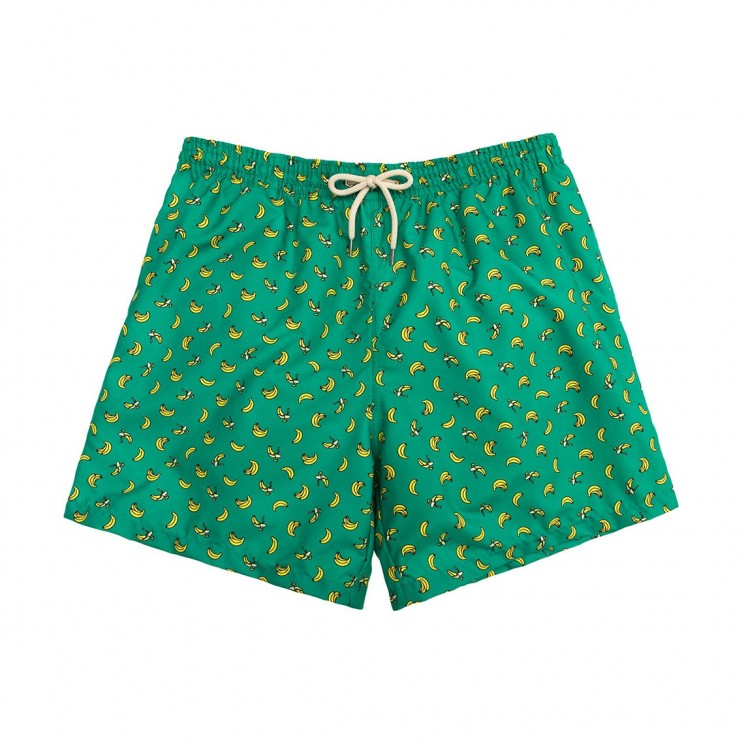 Swim short Green Bananas