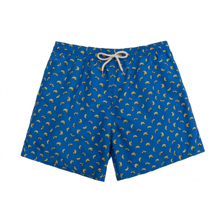 Swim short  Blue Bananas