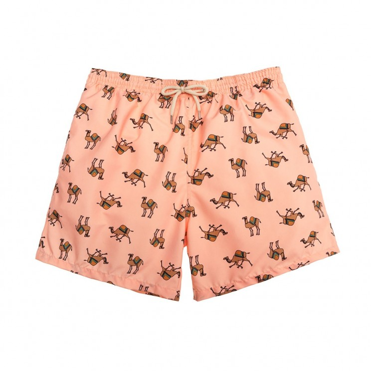 Swim short Peach Camels