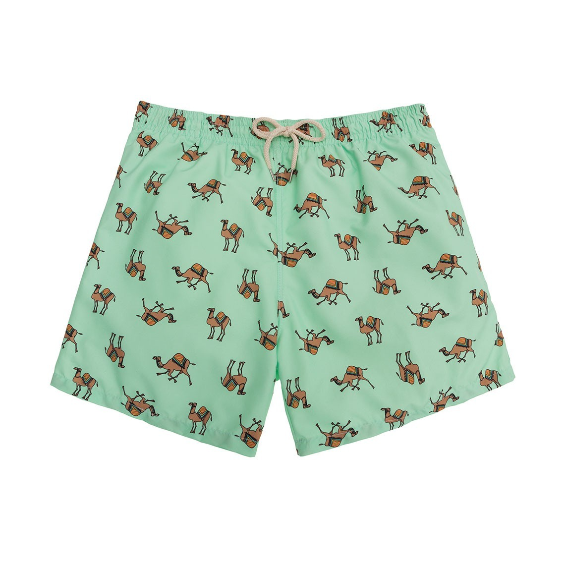 Swim short Green Camels