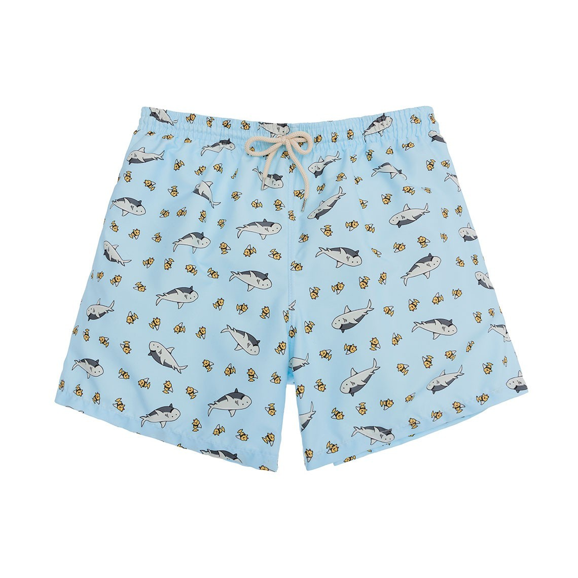 Swim short  Light Blue Sharks