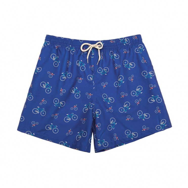 Swim short Blue Bikes