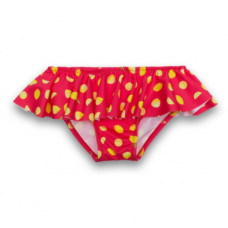 Girl Swimsuit Red Lemons 1 year