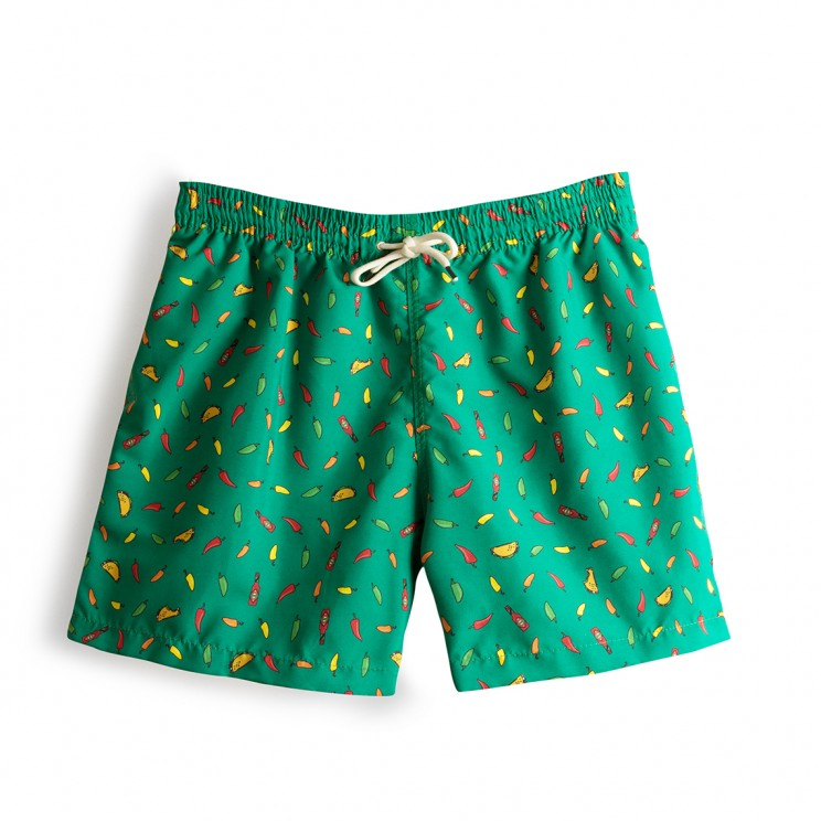 Swim short Green Tacos