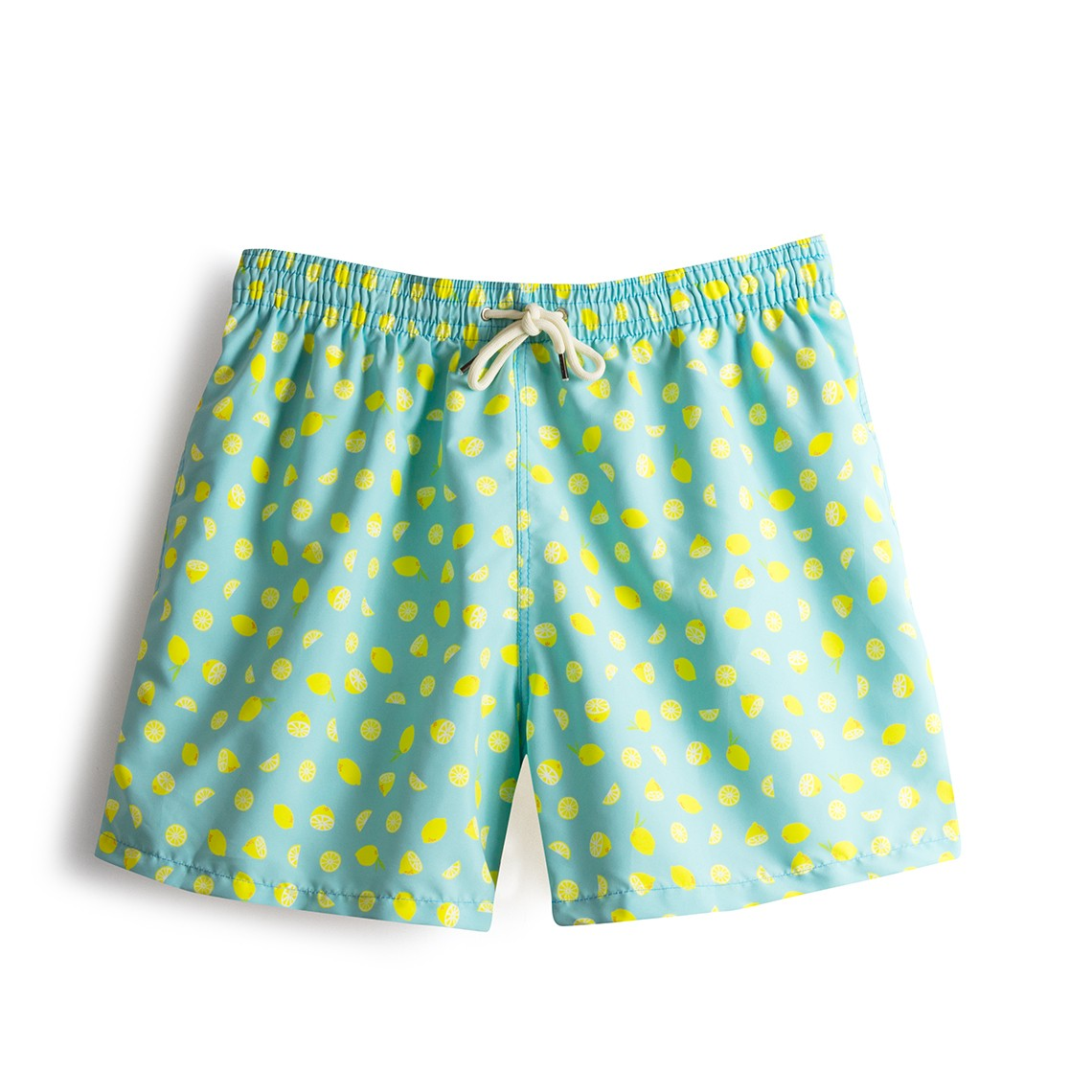 Swim short Light Blue Lemons
