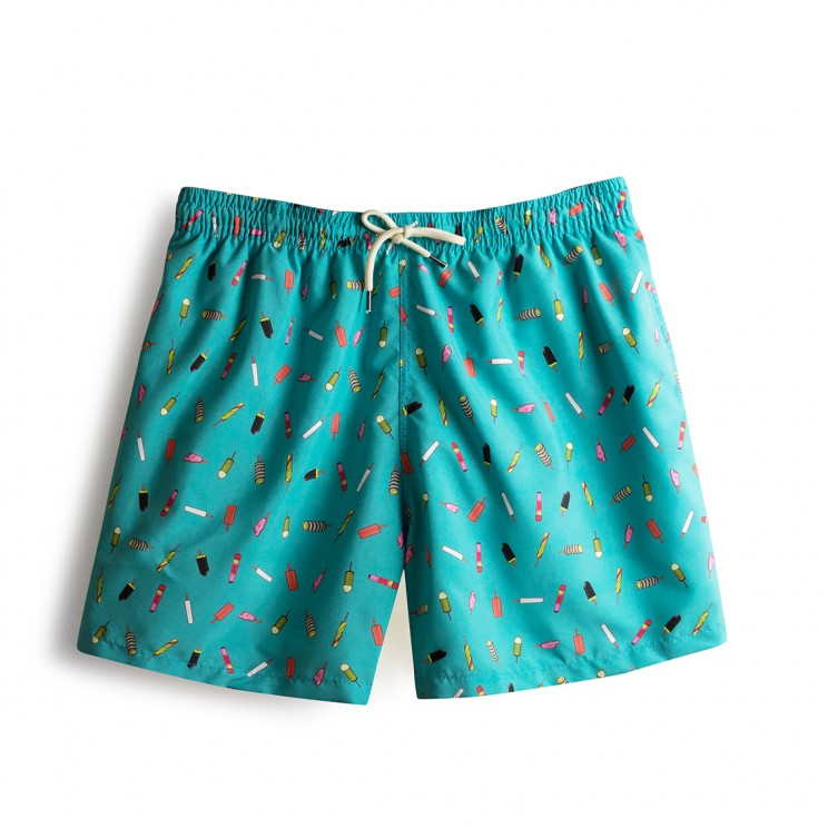 Swim short Green Ice Creams