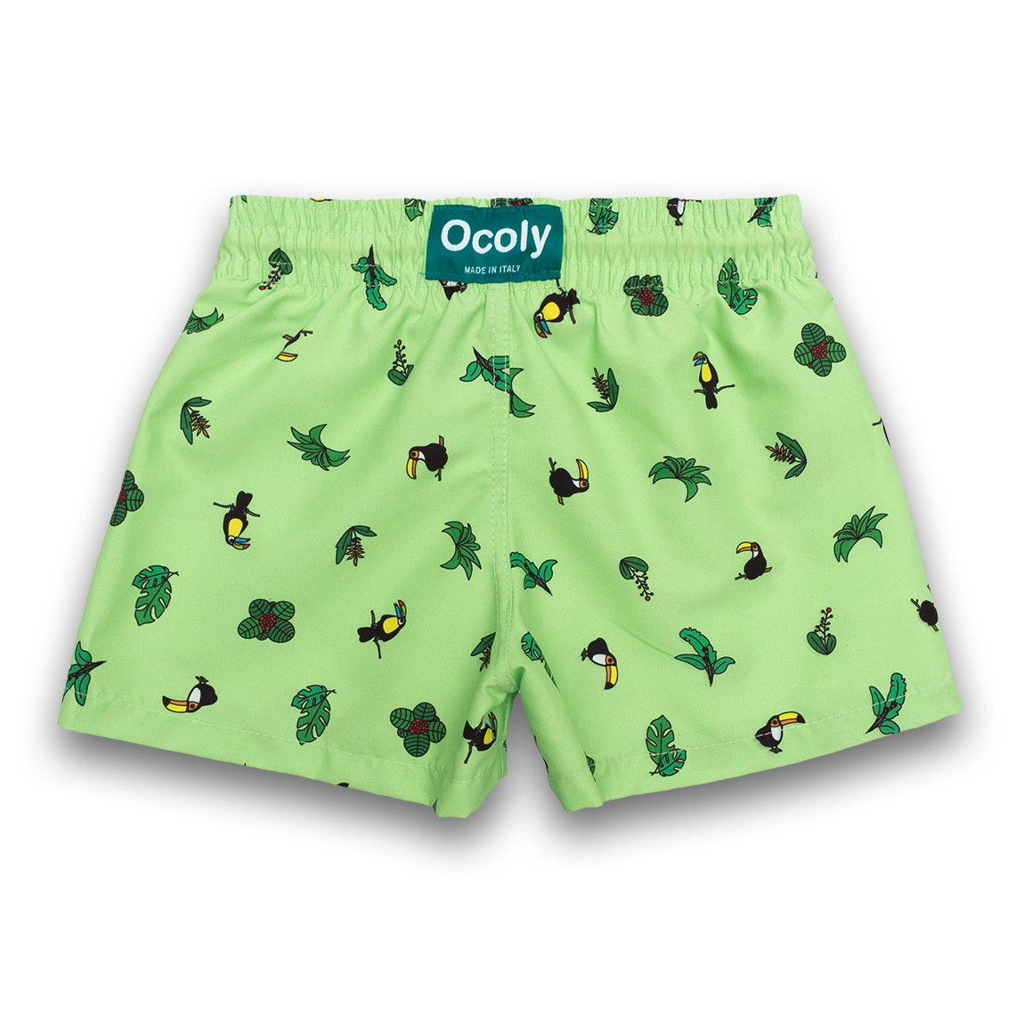 53f4e9fe4d Boy Swim short Green Toucans 2 to 6 years zoom. Siguiente