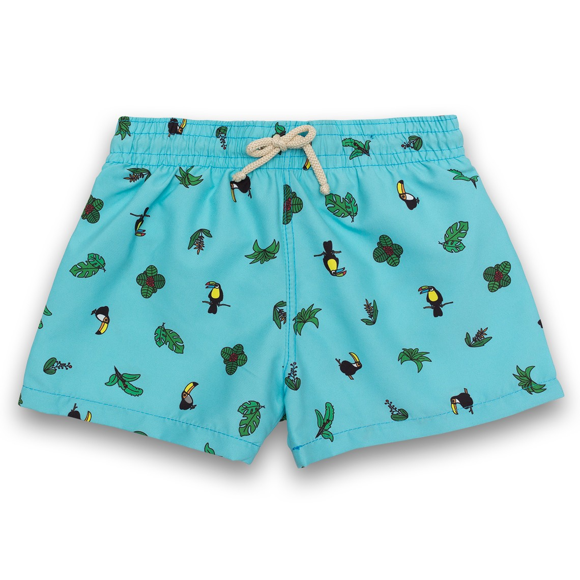 6b3f9c8314 Boy Swim short Blue Toucans 2 to 6 years - Ocoly
