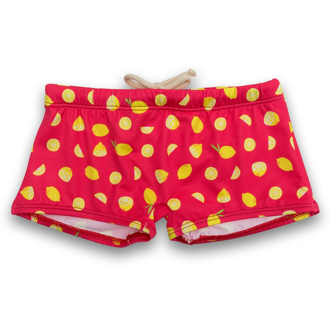 Boy Swimsuit Red Limones 1 year