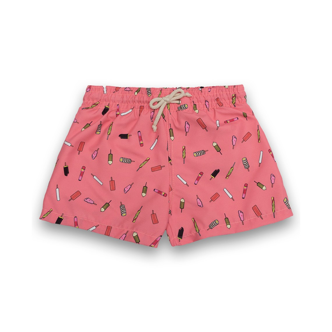 Boy Swim short Pink Ice Creams 2 to 6 years