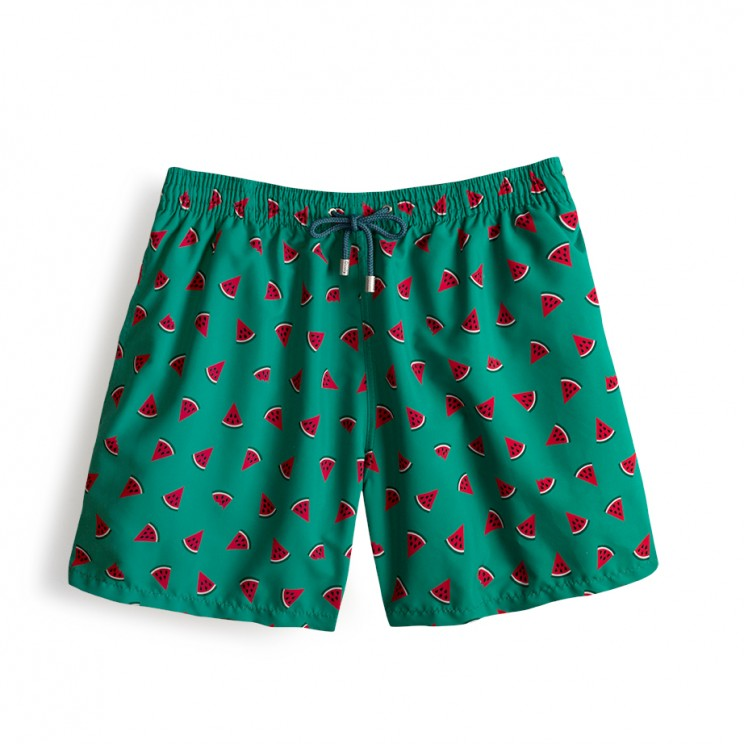 Throwback Limited Edition Green Watermelon Swim Short