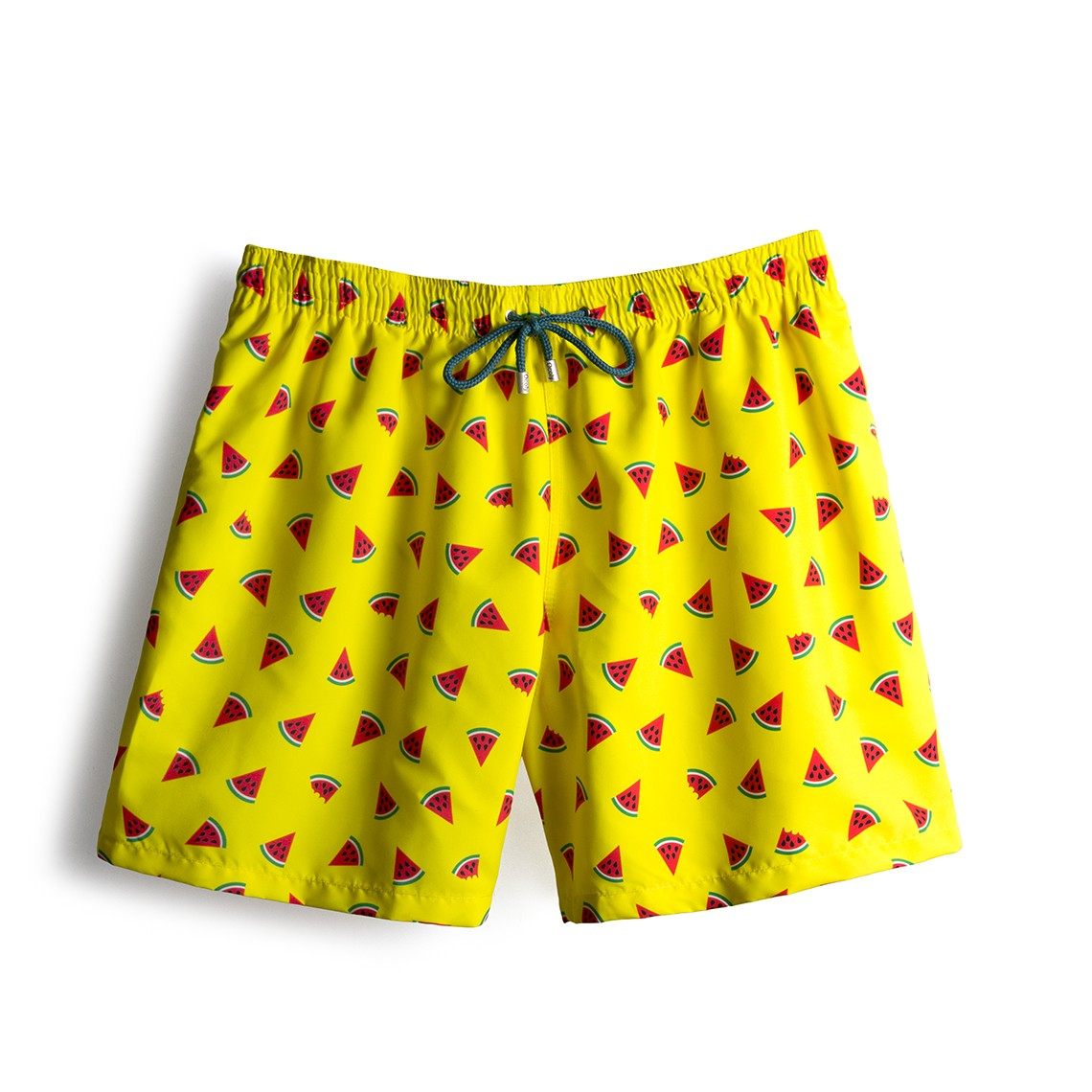 Throwback Limited Edition Yellow Watermelon Swim Short