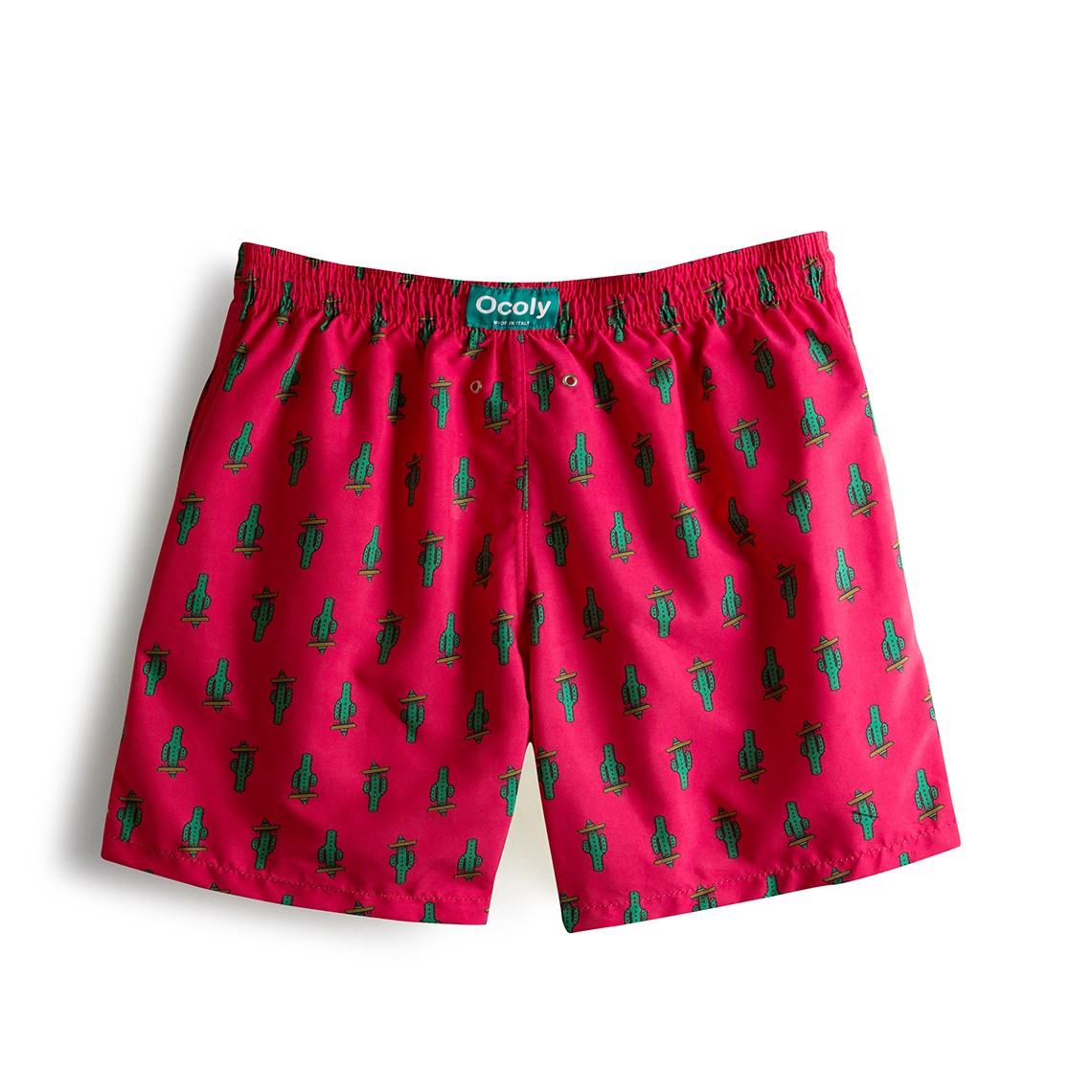 0b19816f17 Throwback Limited Edition Strawberry Cactus Swim Short zoom. Siguiente